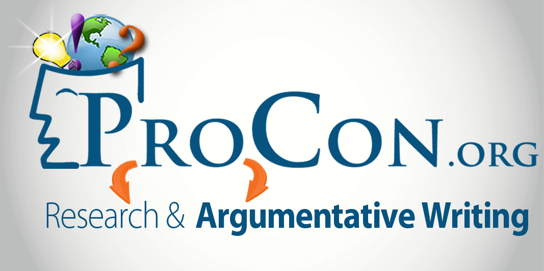 Build Research & Argumentative Skills with ProCon.org