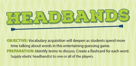 Headbands Vocabulary Game