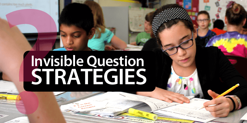 Improve Constructed Responses with the Invisible Questions Strategy