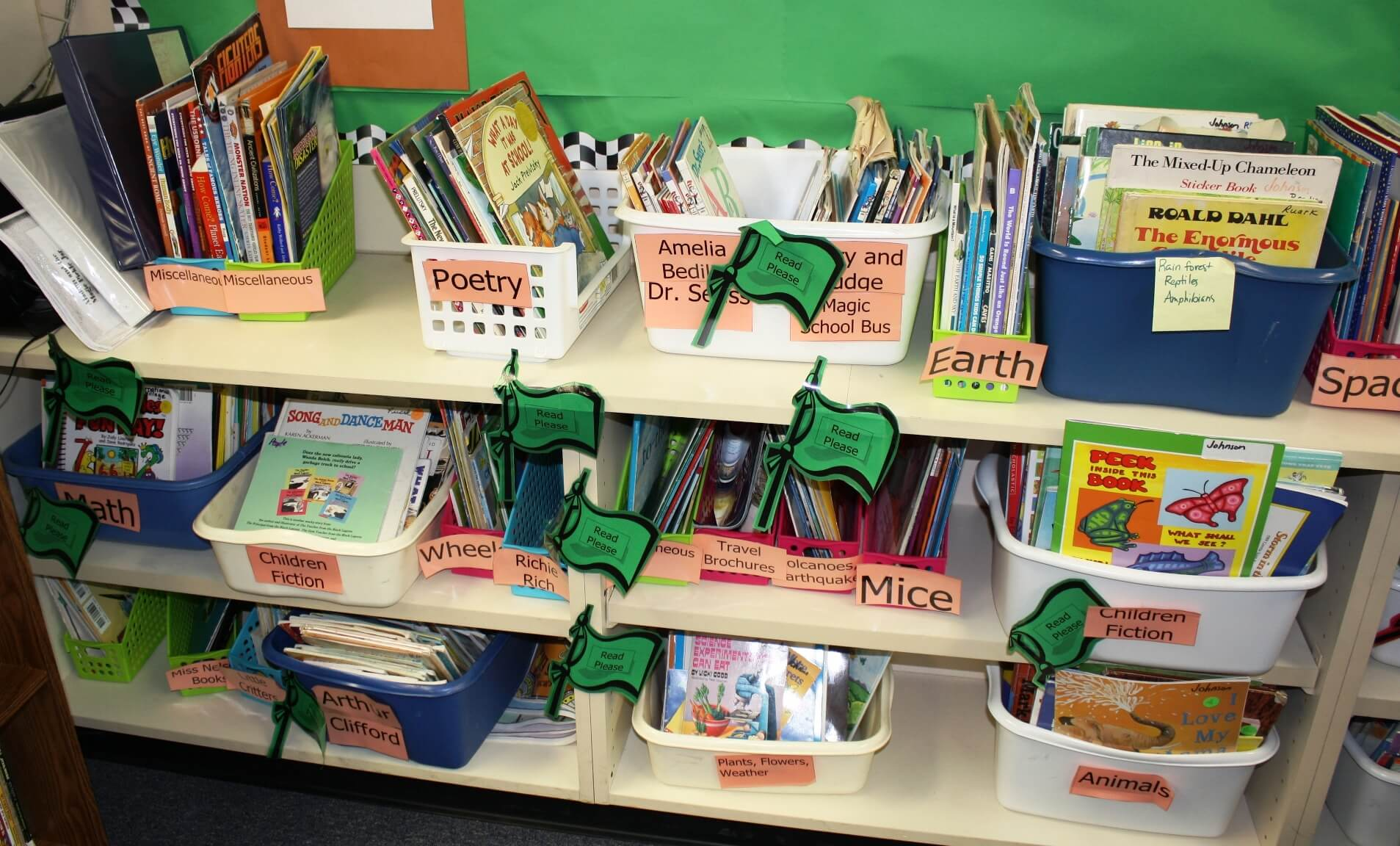 Organize Your Classroom Library