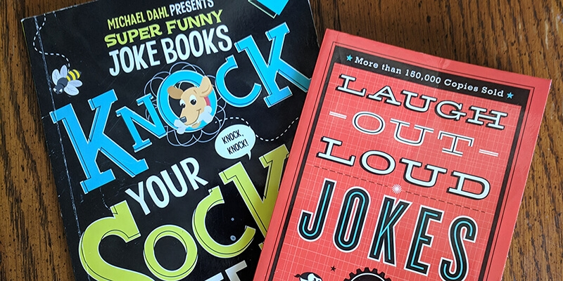 Provide Oral Fluency Practice with Joke Books