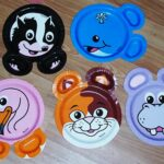 Target Detailed Writing with Zoo Pals Paper Plates