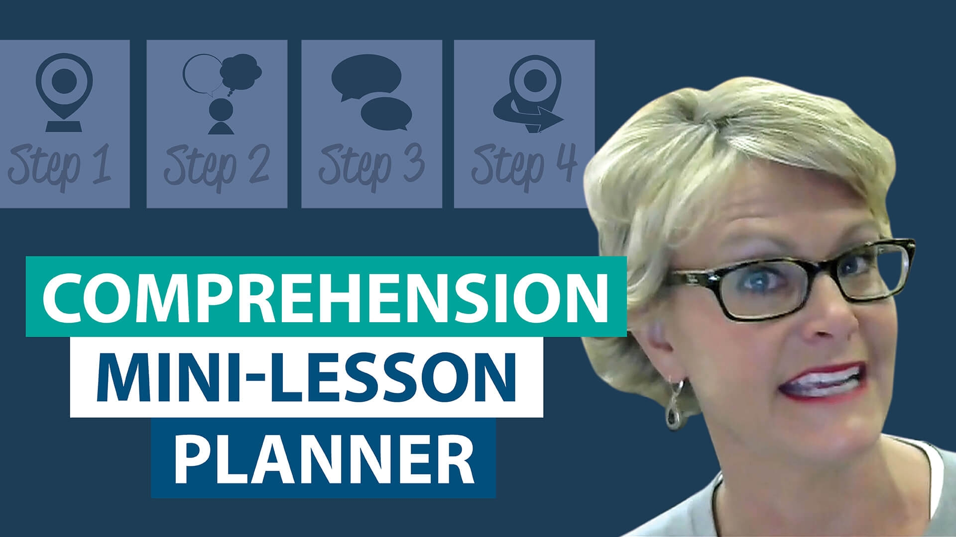 How do I plan a comprehension mini-lesson?