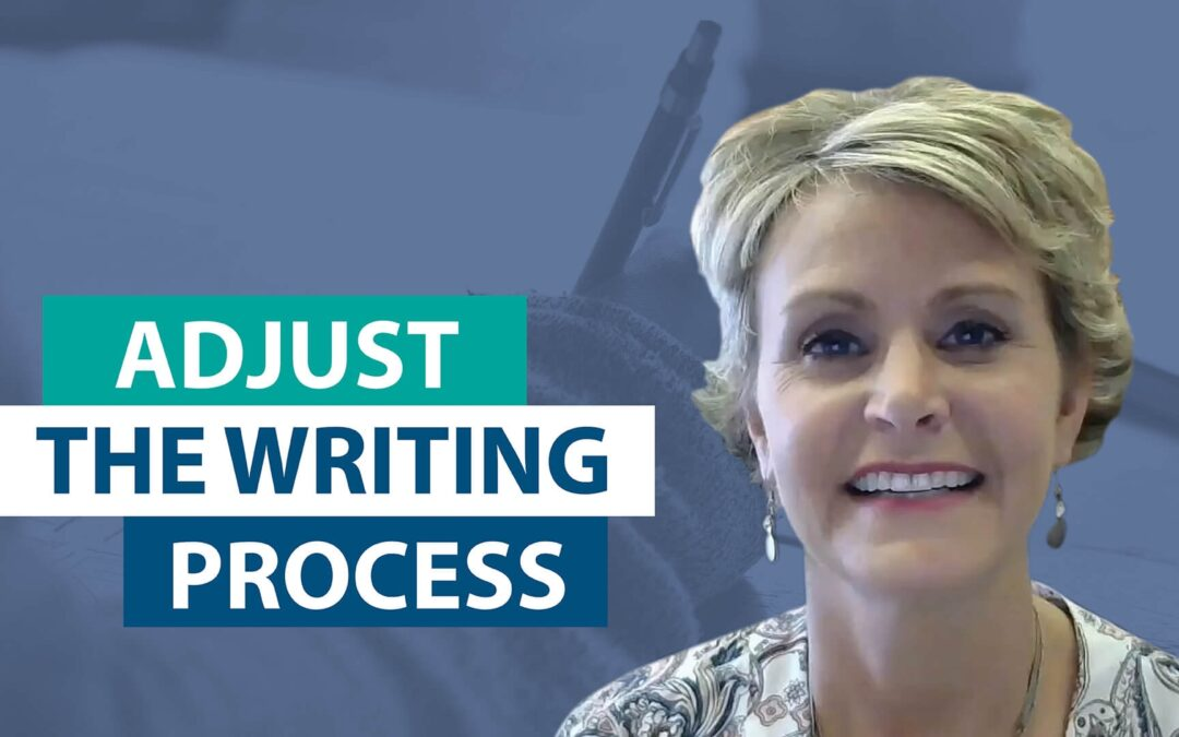 How do you adjust the writing process for 2 weeks versus 2 days?