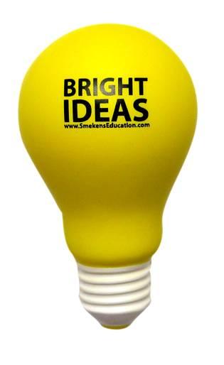Bright Ideas Light Bulb
