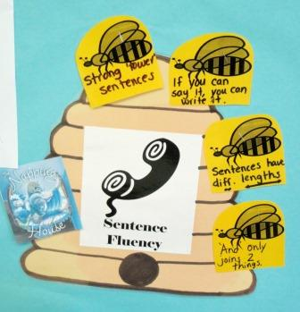 Sentence Fluency Beehive
