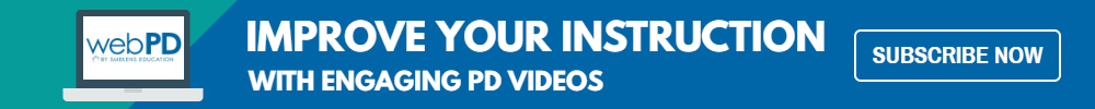 Improve your instruction with engaging PD videos