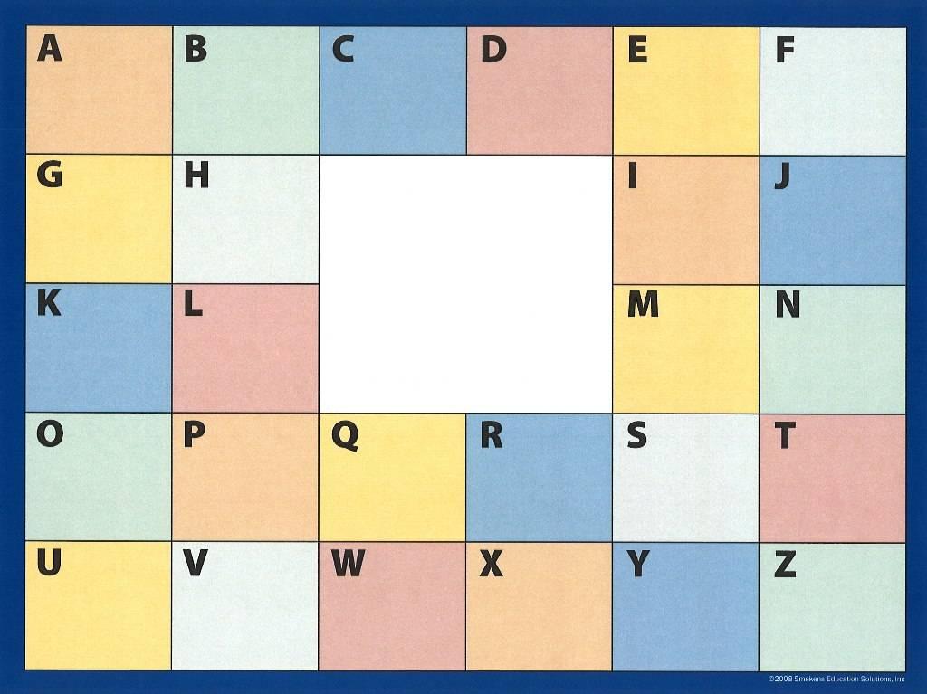 Smekens Education Original - ABC Chart