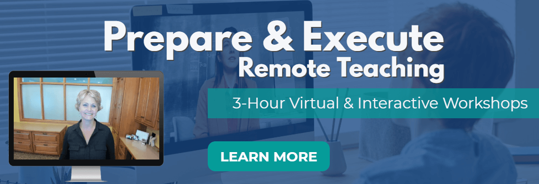 Prepare & Execute Remote Teaching