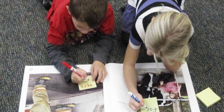 Assess Comprehension with Retelling Labels