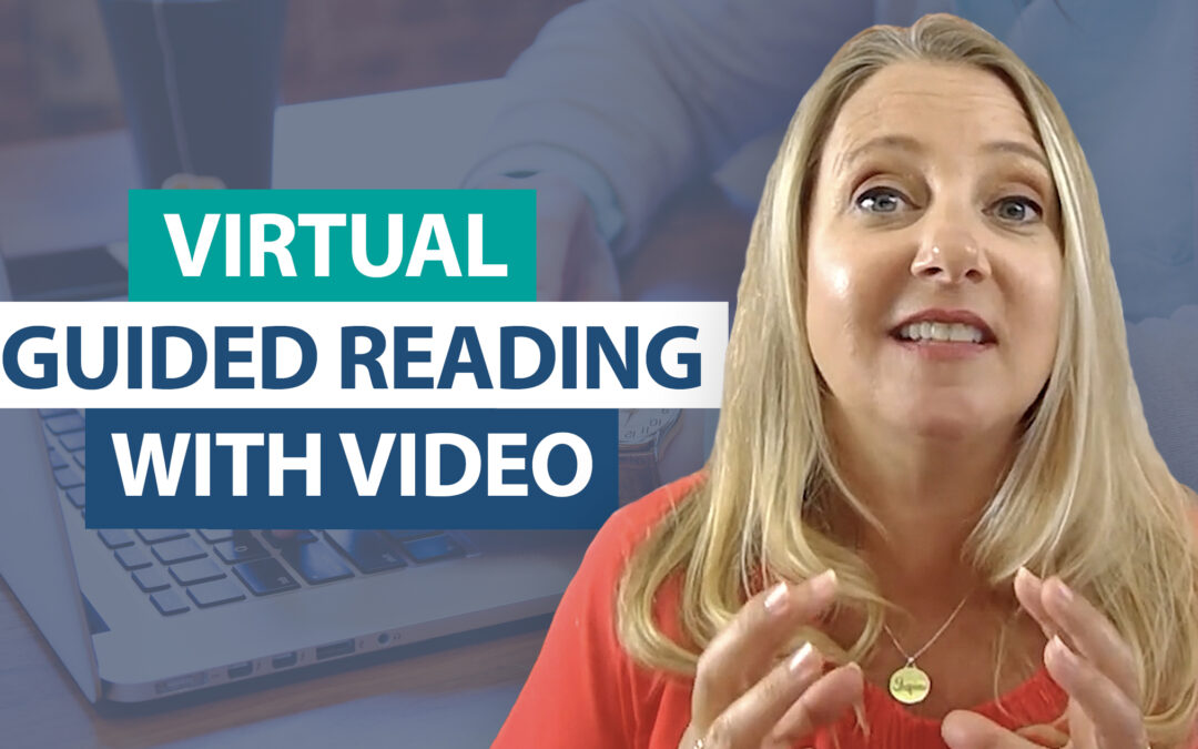 How do I manage guided reading groups with live video?