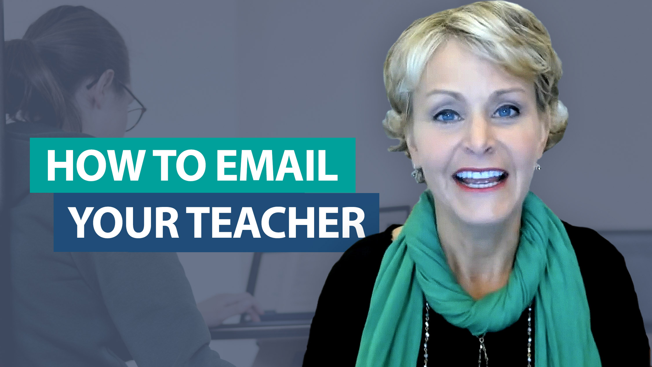 How do I teach my students to write effective emails?