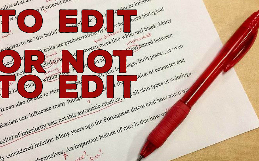 Stop Editing All Students' Errors