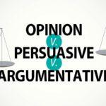 Compare Argumentative versus Persuasive