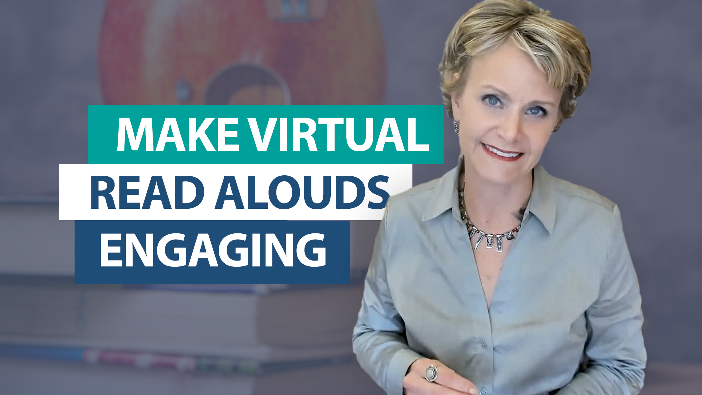 How do you engage students with a virtual read aloud?