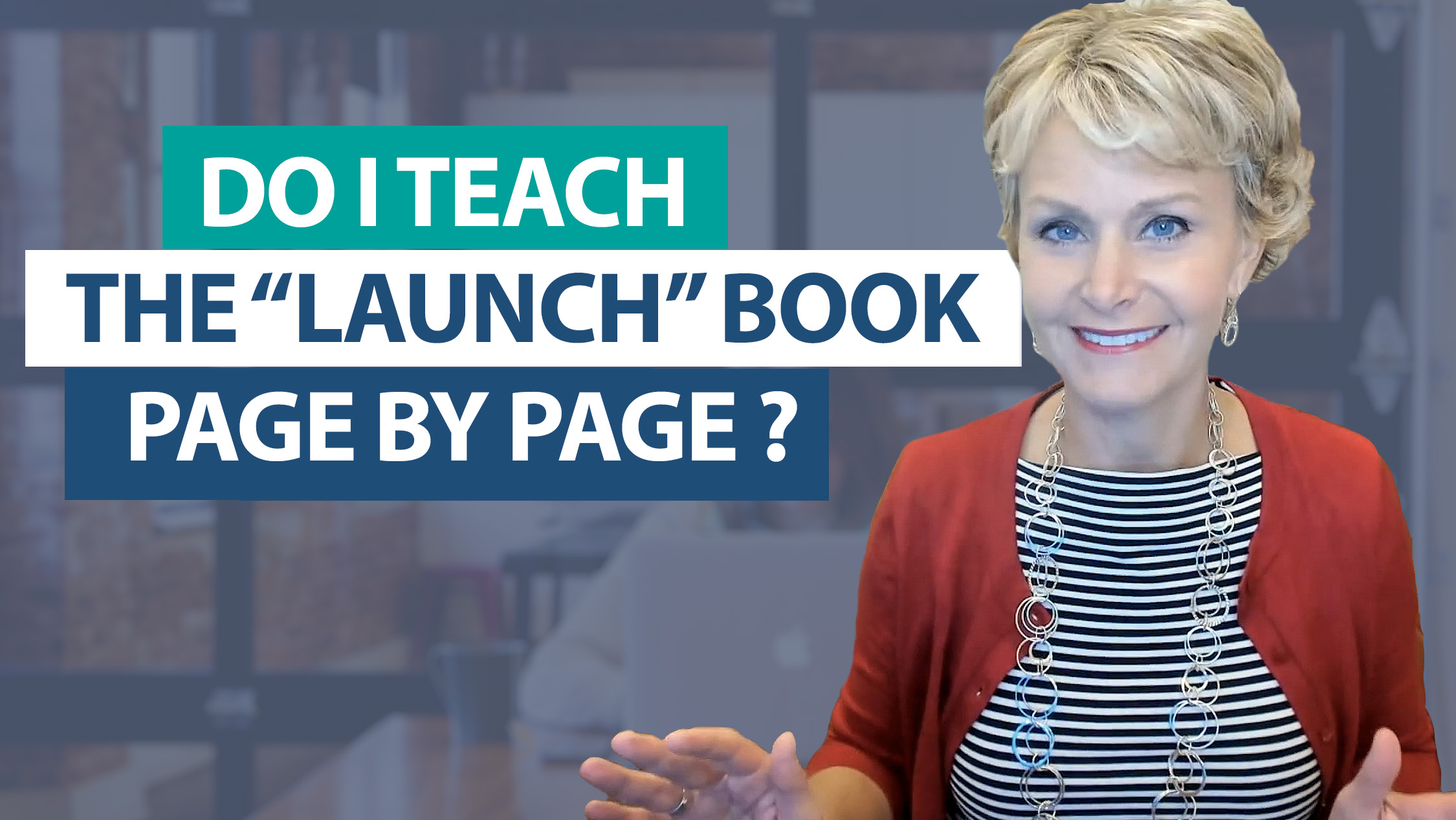 Ask Smekens: Do I teach the Launch book page by page?
