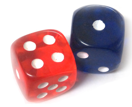 Dice for Vocabulary Practice
