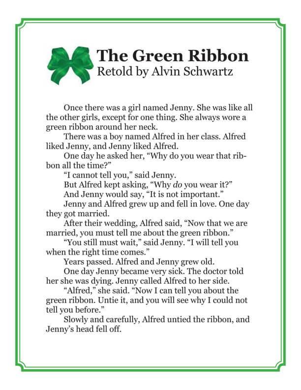 Green Ribbon Story