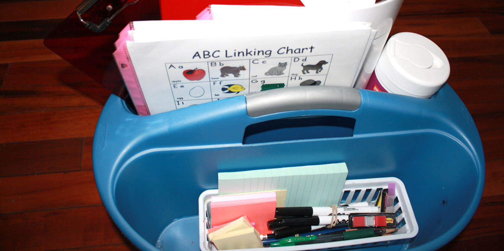 Organize Supplies to Maximize Time in Small Groups