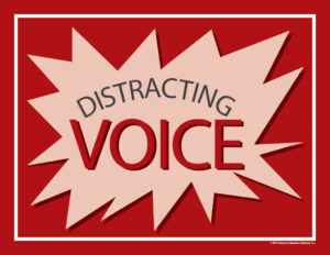 Distracting Voice Sign