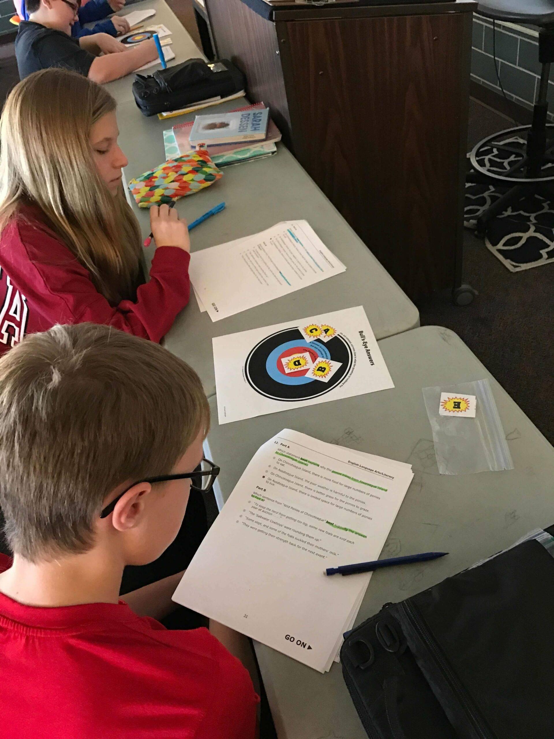 Becky Meek Classroom: Bullseye Strategy 1