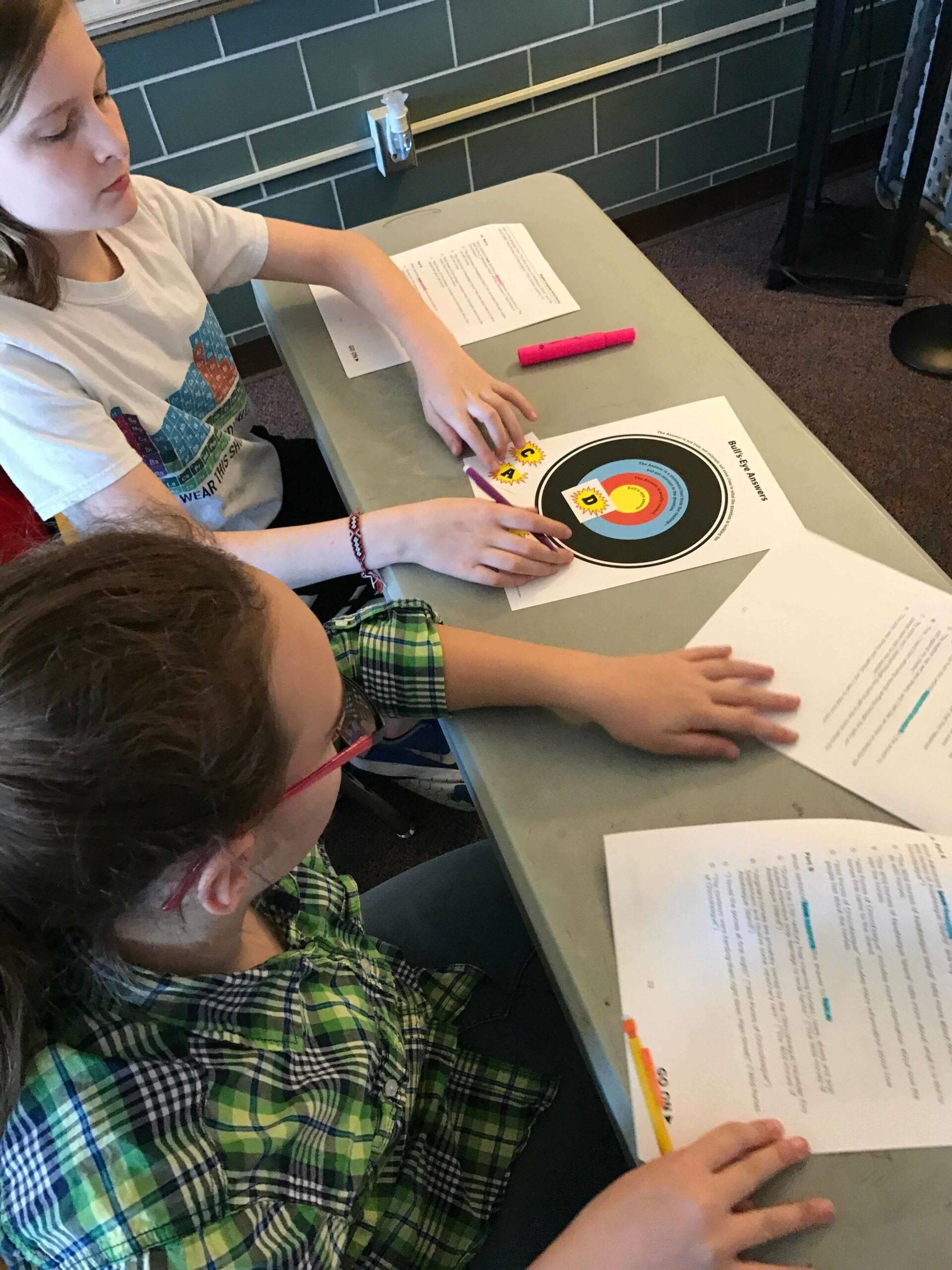 Becky Meek Classroom: Bullseye Strategy 2