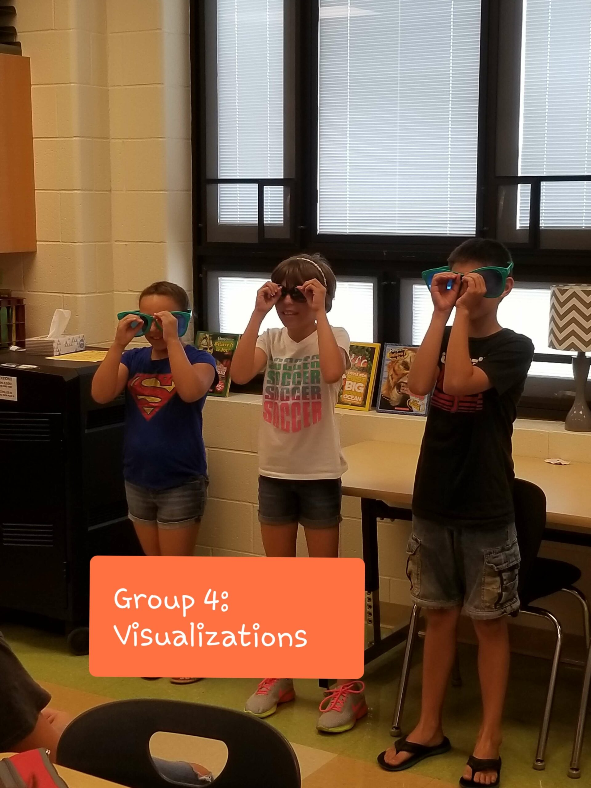 Erica Shadley Classroom: Comprehension Strategy Small Group Visualize