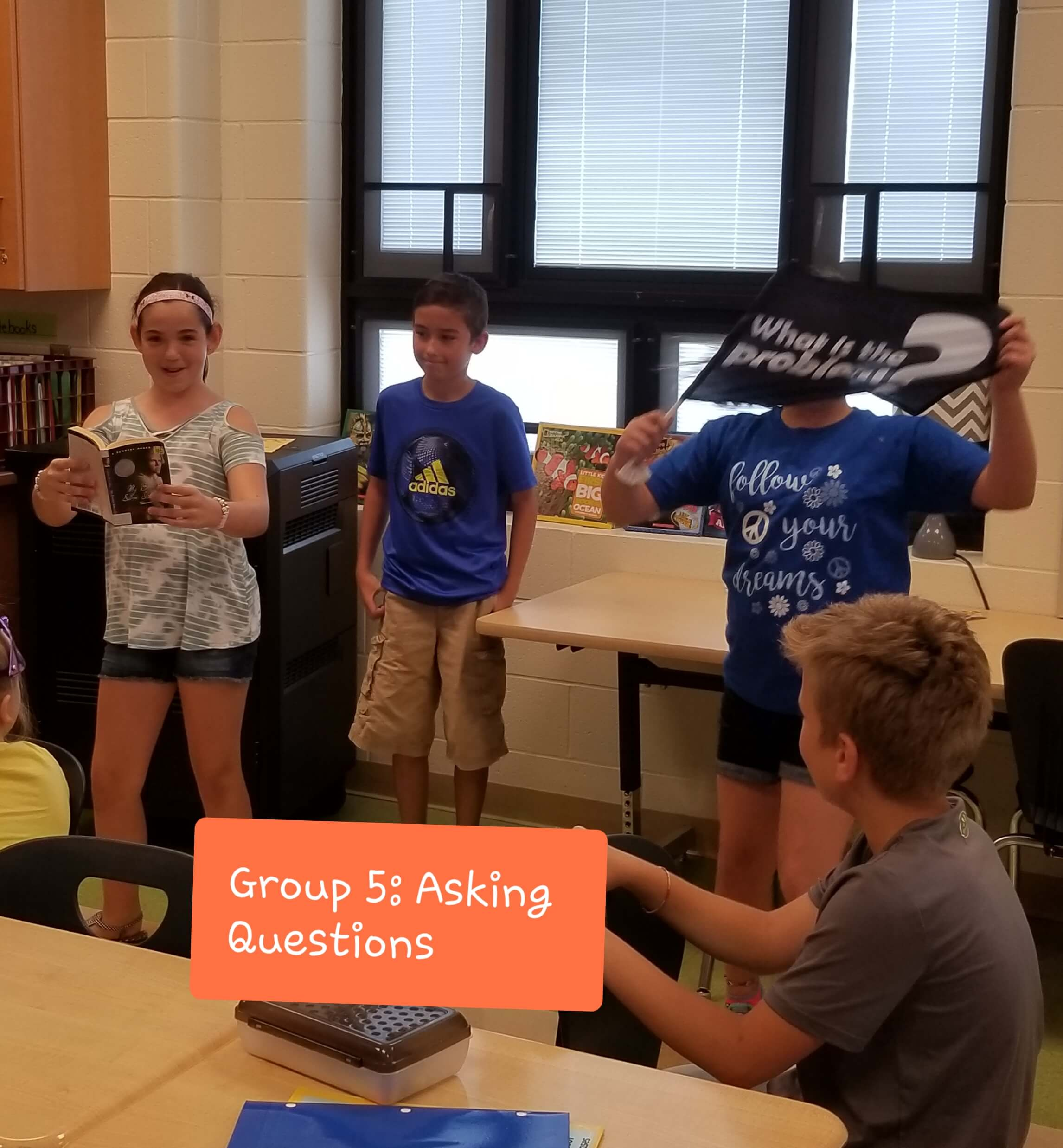 Erica Shadley Classroom: Comprehension Strategy Small Group Questions