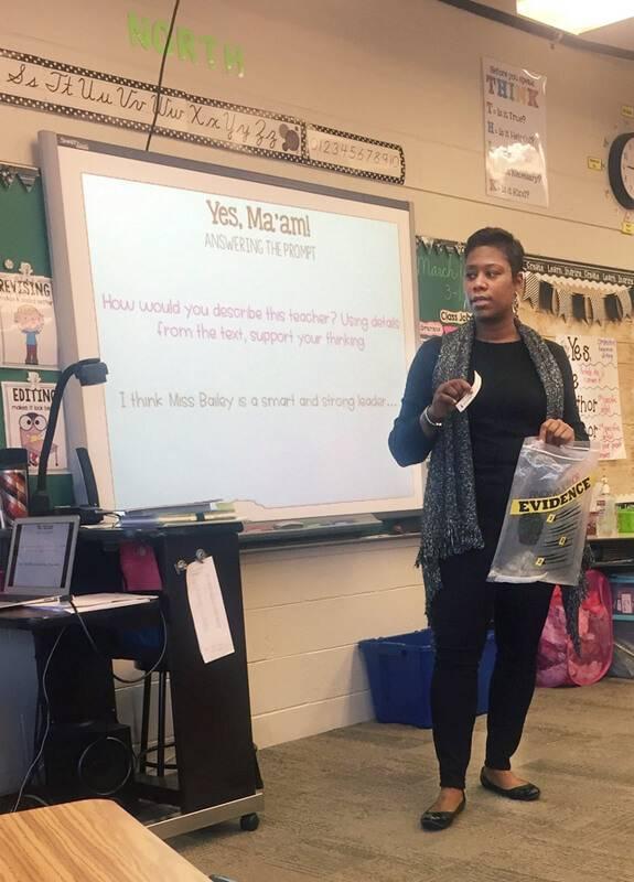 Jada Gilleylen Classroom Evidence Sort 4