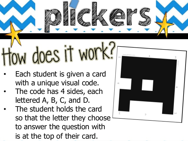 Plickers HOW DOES IT WORK