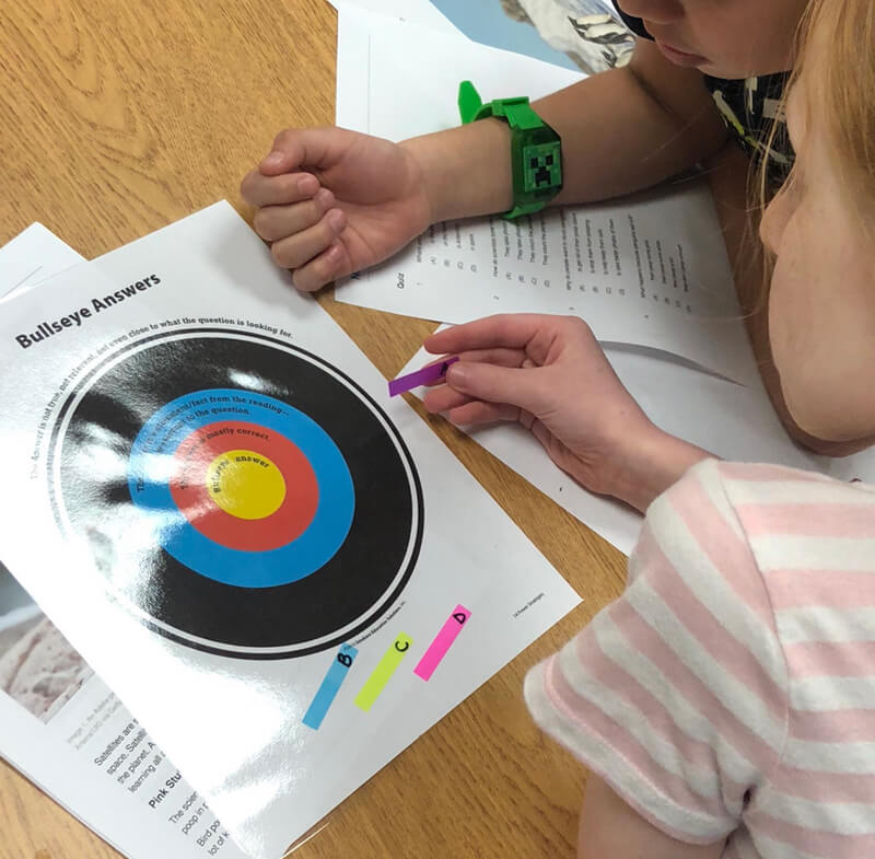Whitney Reinhart Classroom: Bullseye Strategy 2
