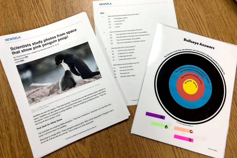 Whitney Reinhart Classroom: Bullseye Strategy 1