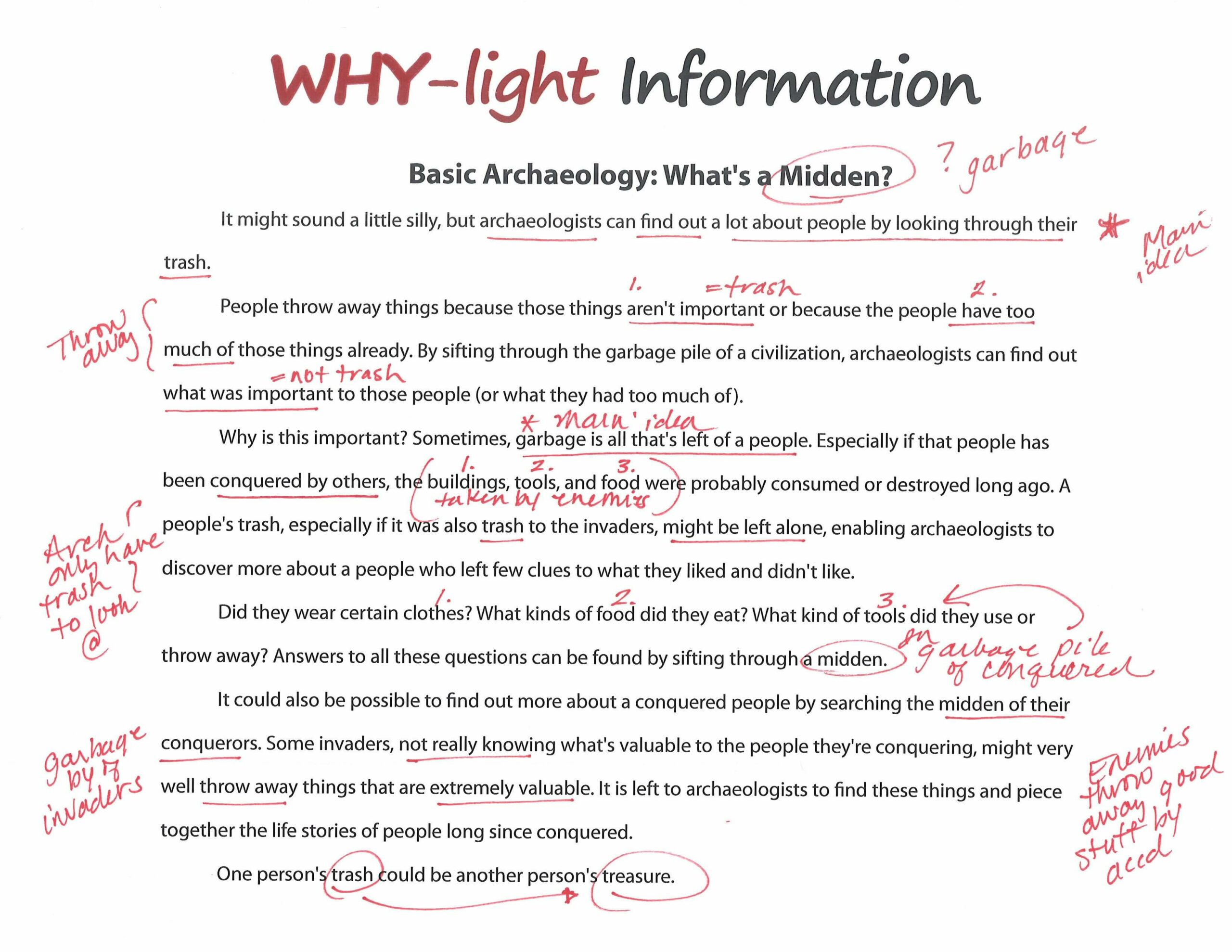 Go Beyond Highlighting - Why-lighting - Downloadable Resource
