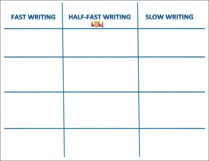 Kid-Friendly Writing Rubric: Funny Teacher Comment