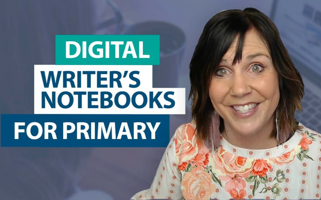 How can I utilize digital writer's notebooks in the primary grades?