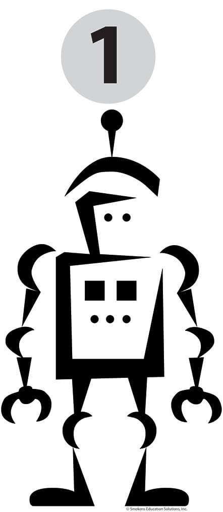 Reading Fluency - Robot Reader Icon