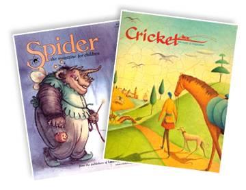 Spider & Cricket Magazines