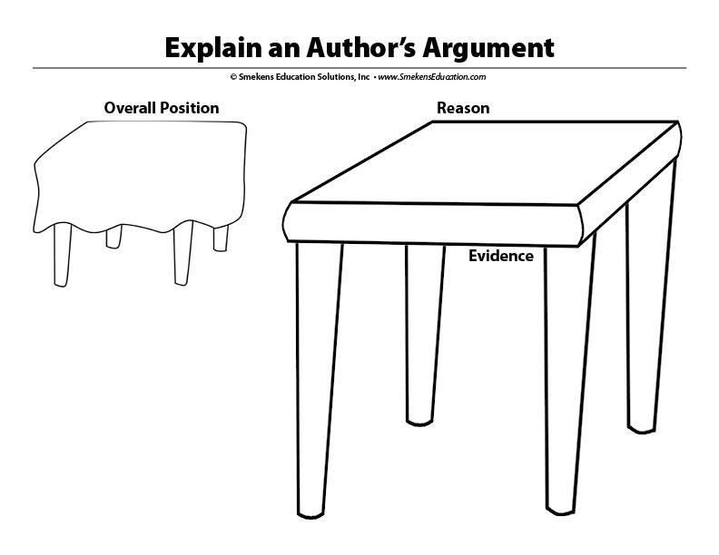 Argumentative READING Single Table