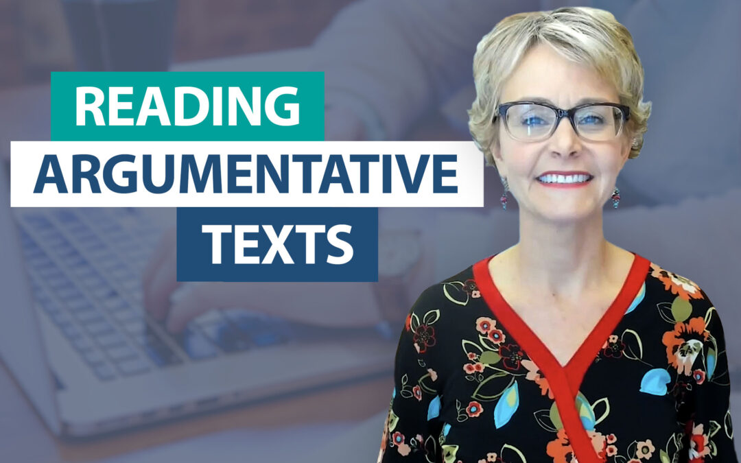 What should I know about the argumentative reading standard?