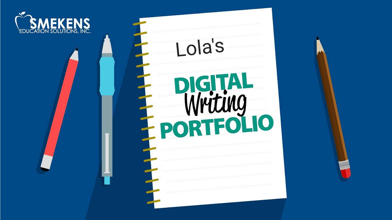 Digital Writing Portfolio Student Sample