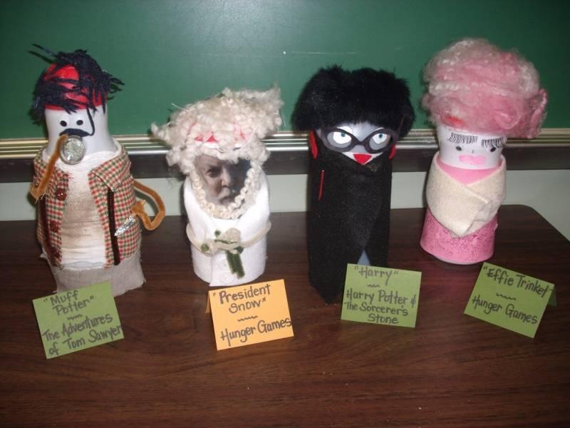 Creamer Characters by Melanie Beaver