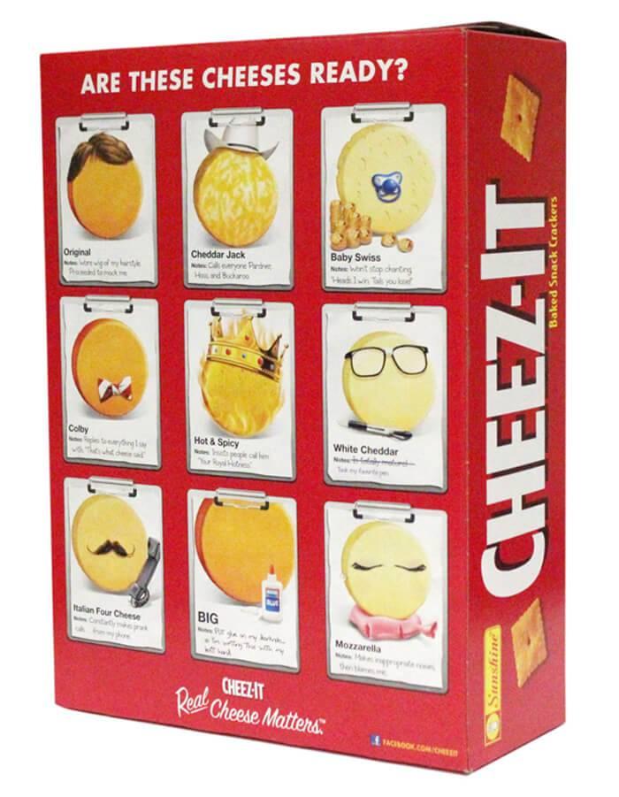 Cheez-It Box