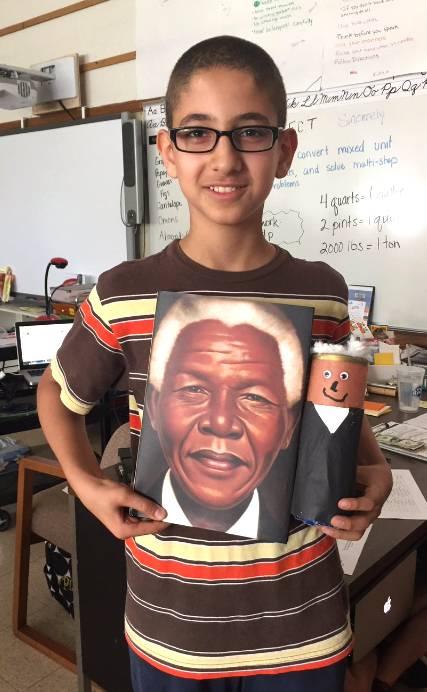 Mandela Creamer Character