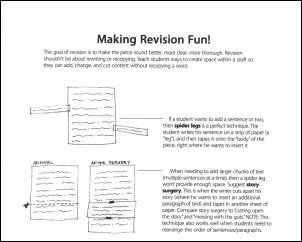 Downloadable Resource: Revision Story Surgery