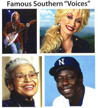"""Famous Southern """"Voices"""""""