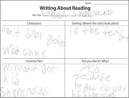 Shamrocks Student Example