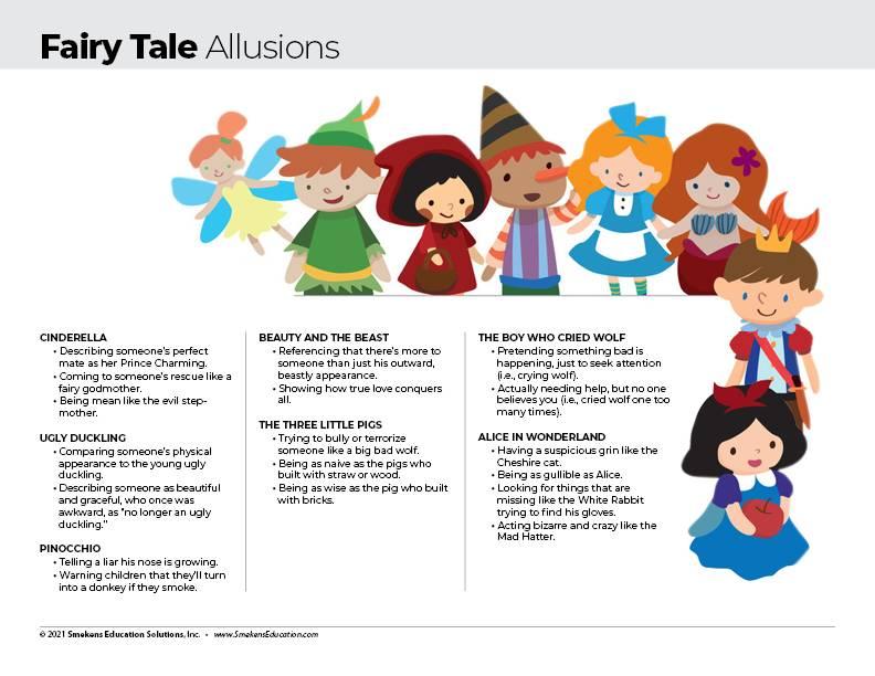 Fairy Tale Allusions